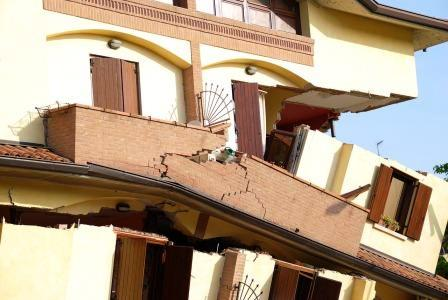 casa antisismica crolli