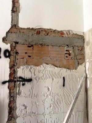 porta esistente tamponata
