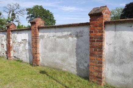 muro di recinzione