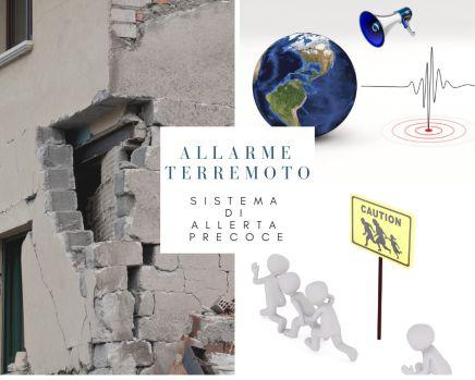 allerta precoce terremoto