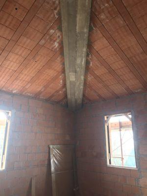 tetto in travetti e pignatte