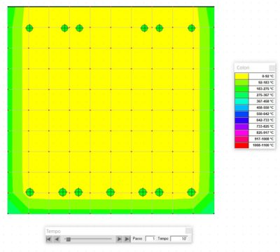 mappatura termica trave ca 10 minuti