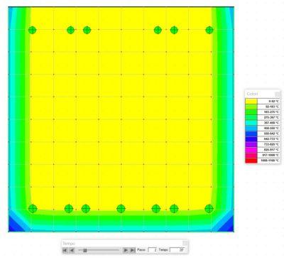 mappatura termica trave ca 20 minuti