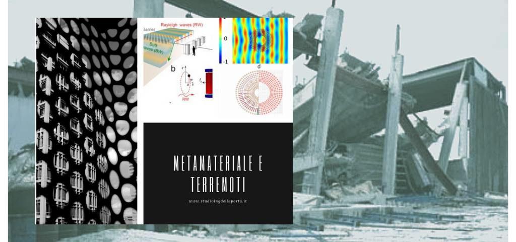 Metamateriale e sismica