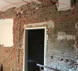 tracce nei muri portanti